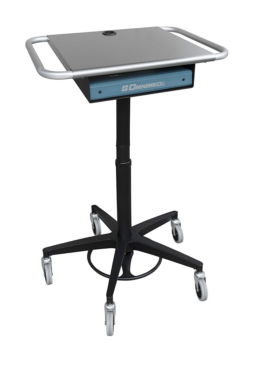 Omnimed 350305_EXT1 Laptop Stand with Storage Drawer