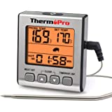 ThermoPro TP-16S Digital Meat Thermometer Smoker Candy Food BBQ Cooking Thermometer for Grilling Oven Deep Fry with…