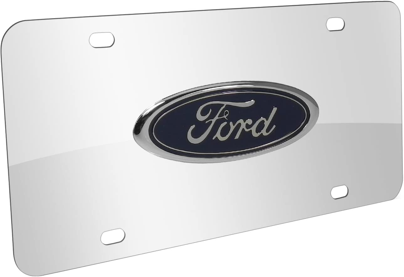 Silver//Smoke NEW!! Ford  License Plate Colors