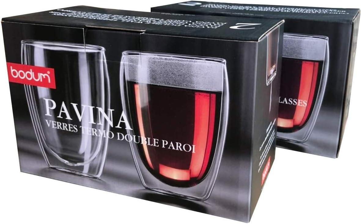 Bodum Pavina 4558-10 2 bicchieri da 0,25 litri