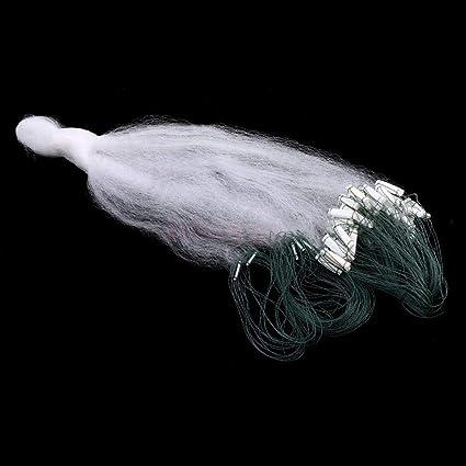 Nylon Fishing Gill Net Fish Gillnet Fishing Net 3 Layers Mesh Trap 20m x 1m