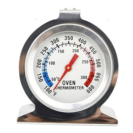 Termómetro para horno de acero inoxidable, termómetro de control ...