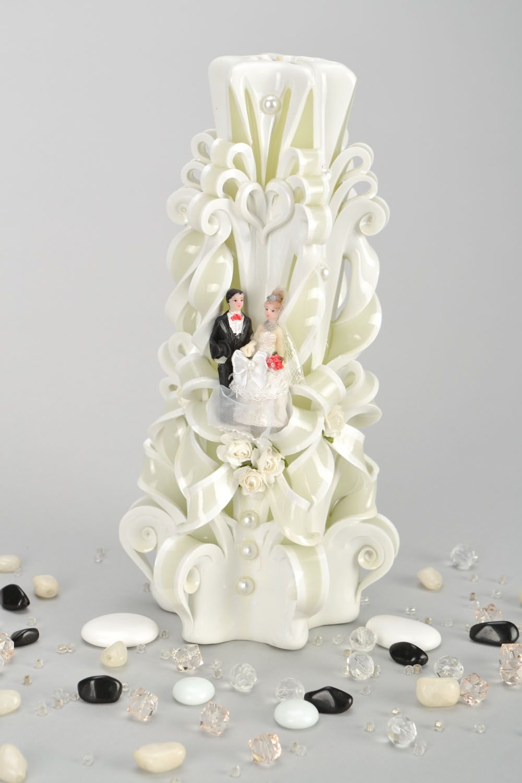Paraffin Wedding Candle