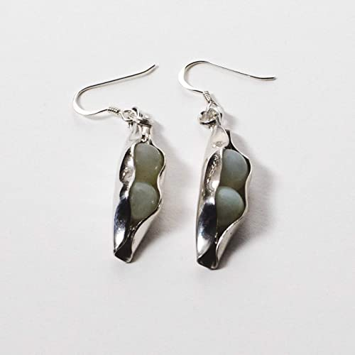 35th Wedding Anniversary Jade Gift Set Silver Two Peas In A Pod