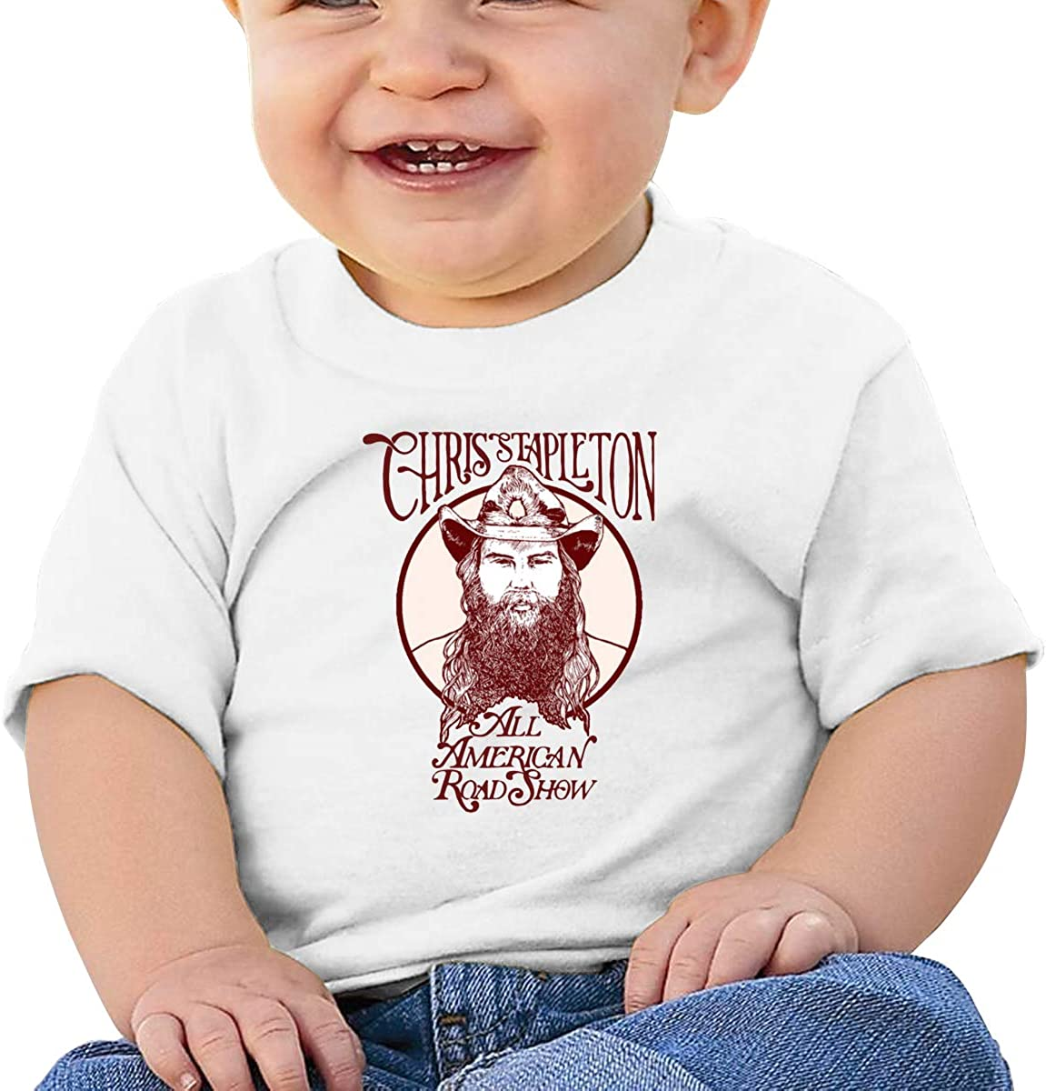 HAOHIYO Baby Chris Stapletion Traveller Shirt Toddler Cotton Tee