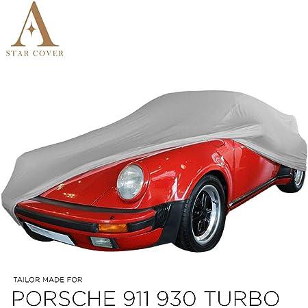 Autoabdeckung Grau Passend FÜr Porsche 911 Turbo 930 Ganzgarage Innen SchutzhÜlle Abdeckplane Schutzdecke Cover Auto