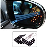Shoppers Paradise 1 Pair of SMD LED Arrow Panel Lights for Car Side Mirror Turn Indicator,(Yellow)