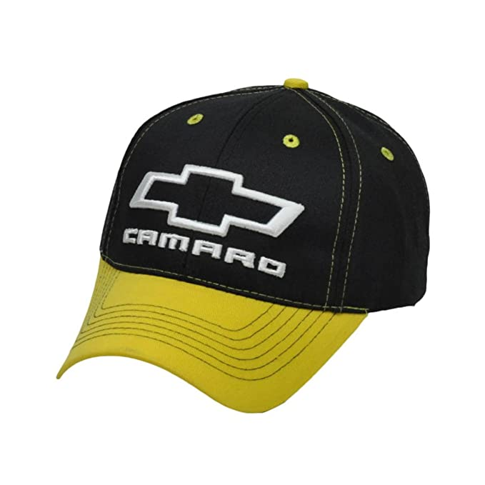 87cacdd1 Image Unavailable. Image not available for. Color: Hat - Chevrolet Camaro Logo  3-D Embroidered Ball Cap Adjustable