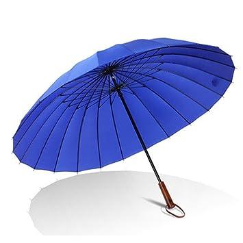 paraguas Sombrilla Paraguas De Negocios Para Hombre / mango Sombrilla Paraguas De Madera 24 Paraguas Grande
