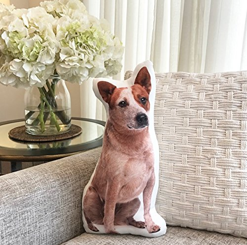Cushion Co - Red Heeler Dog Shaped Pillow 16'' x 12'' by Cushion Co (Image #2)