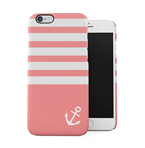 DODOX Navy Sailor Anchor Stripped Lines Pink Pattern Apple ...