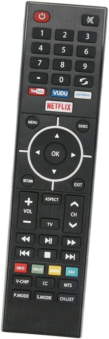 New Remote Control for Element TV ELST3216H ELST5016S