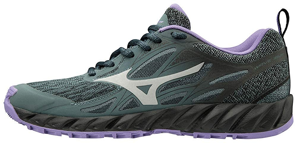 gris (Stormy Weather   argent   Dahlia violet violet 03) Mizuno Wave Ibuki, Chaussures de Trail Femme  commander en ligne