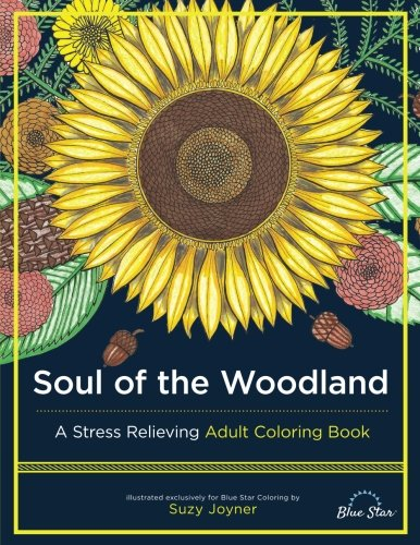 Soul of the Woodland: A Stress Relieving Adult Coloring Book ebook