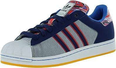 Opinión Joseph Banks Masacre  Amazon.com: adidas Originals hombre Superstar II Zapatillas Zapatos Shell  Toe, Azul, 10 D(M) US: Shoes