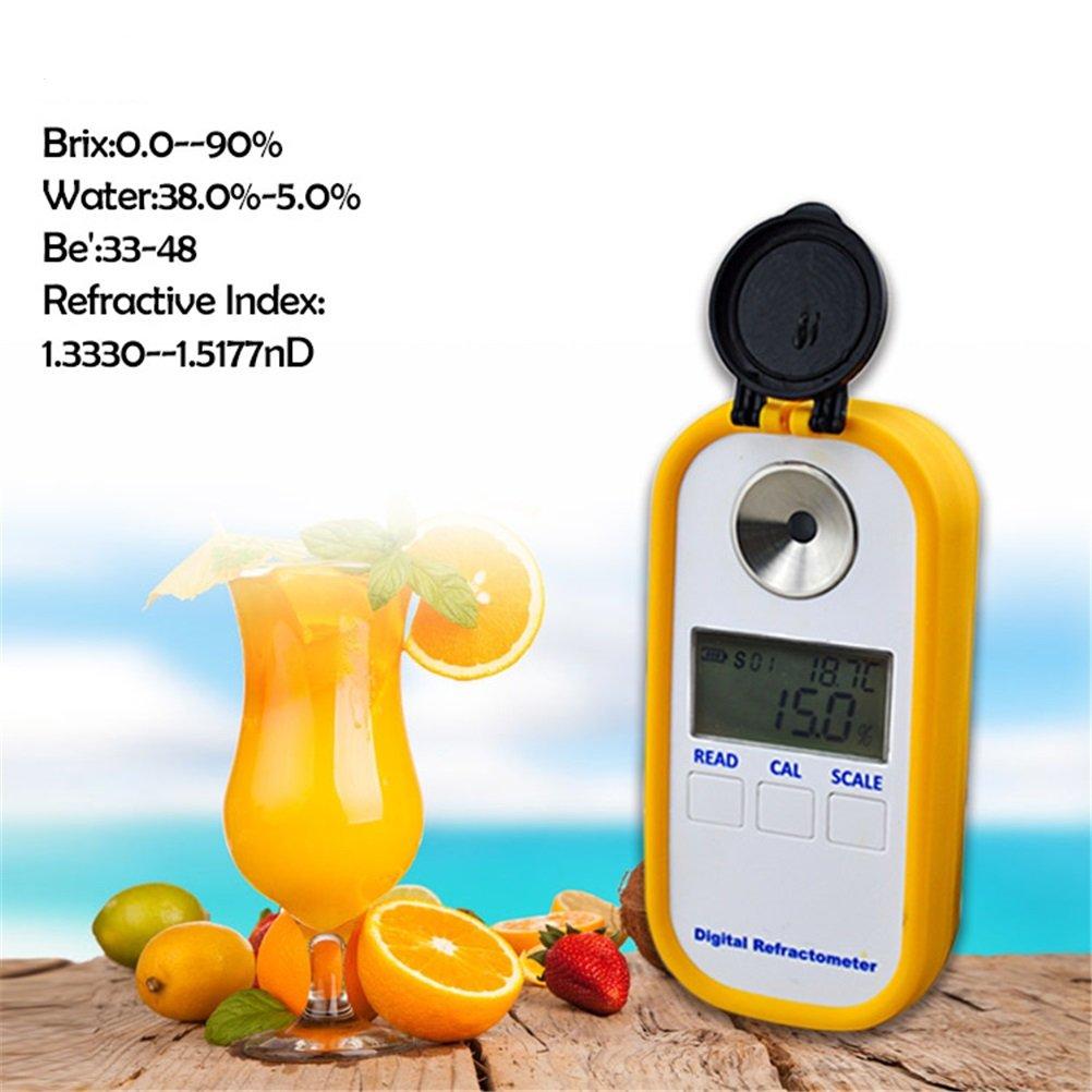 Digital Honey Refractometer, ATC Auto Honey Moisture Water