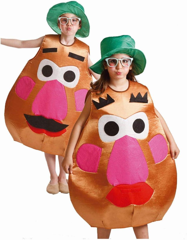 Disfraz de Sr. Cara Patata para niños de 8 a 10 años: Amazon.es ...