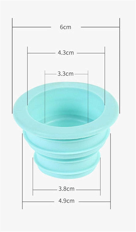 para tuber/ías de Cocina desag/üe Wendy Cai Tap/ón de Silicona para Desodorante ba/ño tuber/ías Cocina para Lavadora Herramientas de Limpieza 2 Unidades Conector Color al Azar