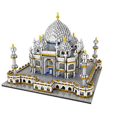 GoolRC 9914 Model Taj Mahal Atomic Building Blocks Kit 3950pcs Gift Toy for Kids: Toys & Games