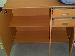 sideboard highboard kommode standschrank mehrzweckschrank anrichte schrank uwe sonoma eiche. Black Bedroom Furniture Sets. Home Design Ideas