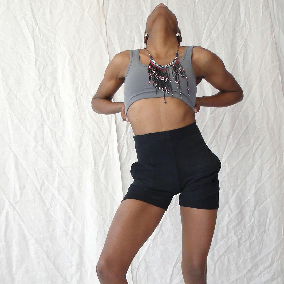8e773e8d49b8c Prancing Leopard Waimea Yoga Sports Shorts  Amazon.co.uk  Sports   Outdoors