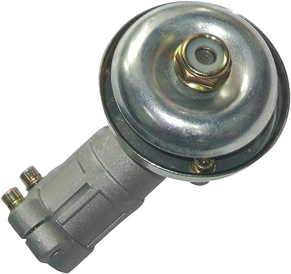 Caja de cambios de engranaje conjunto del cabezal de dAssy adapta Trimmer Desbrozadora 26MM Plaza M10X1.25LH: Amazon.es: Jardín