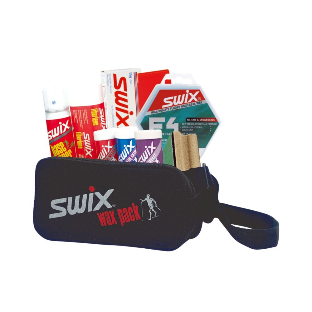 HANDY! SWIX CROSS COUNTRY WAX KIT ALL IN ONE FOR ALL SKIS - ALPINE, NORDIC, ETC. P0035