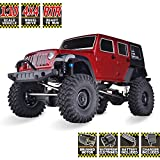 #6: HSP RC Crawlers RTR 1/10 Scale 4wd Off Road Monster Truck Rock Crawler 4x4 High Speed Waterproof Rc Car