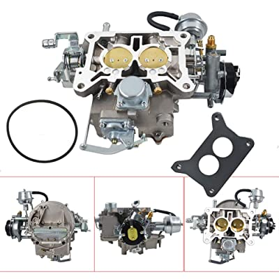 Autoparts 2-Barrel Carburetor Carb 2100 Fit for Ford 289 302 351 Cu Jeep 360 Engine 1964-78: Garden & Outdoor