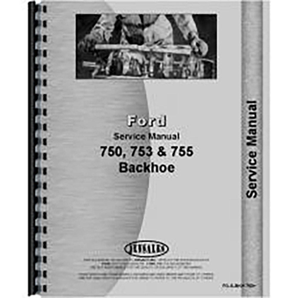 Amazon.com: Ford 750 4500 Backhoe Service Manual: Industrial & Scientific