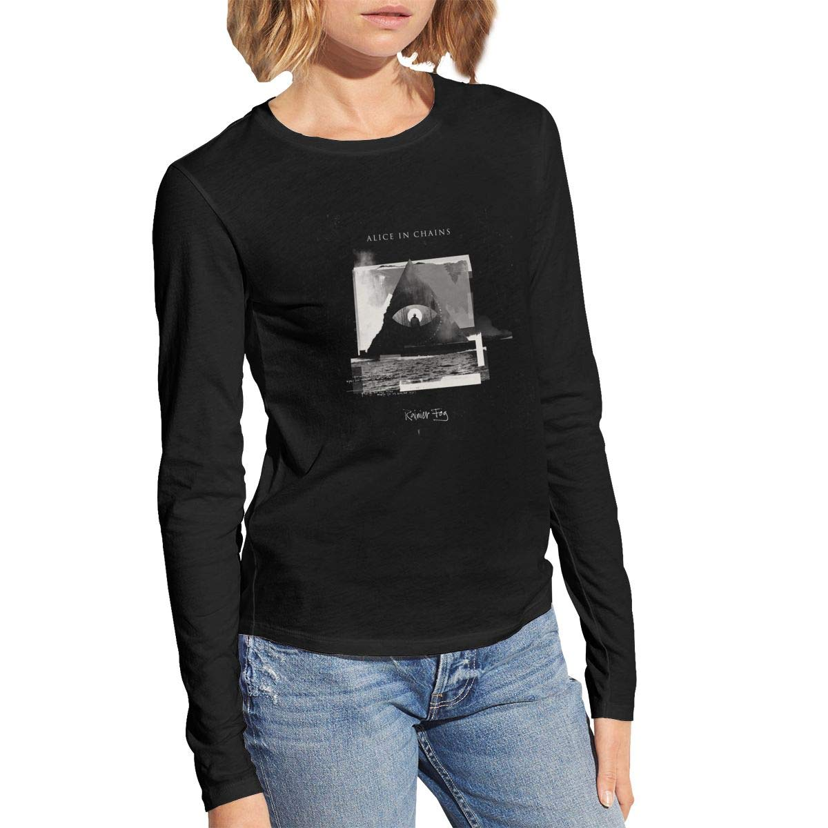 Alice In Chains Rainier Fog Women Comfortable Casual Shirts
