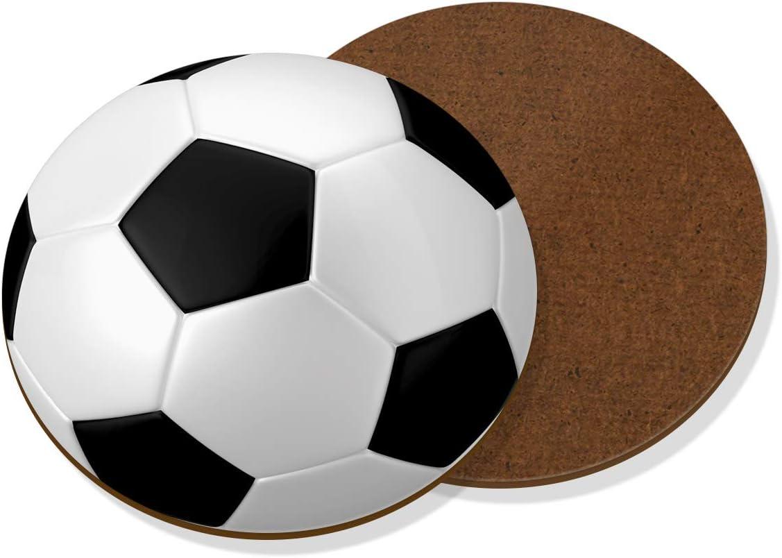 Gift Base Balón Fútbol Posavasos: Amazon.es: Hogar