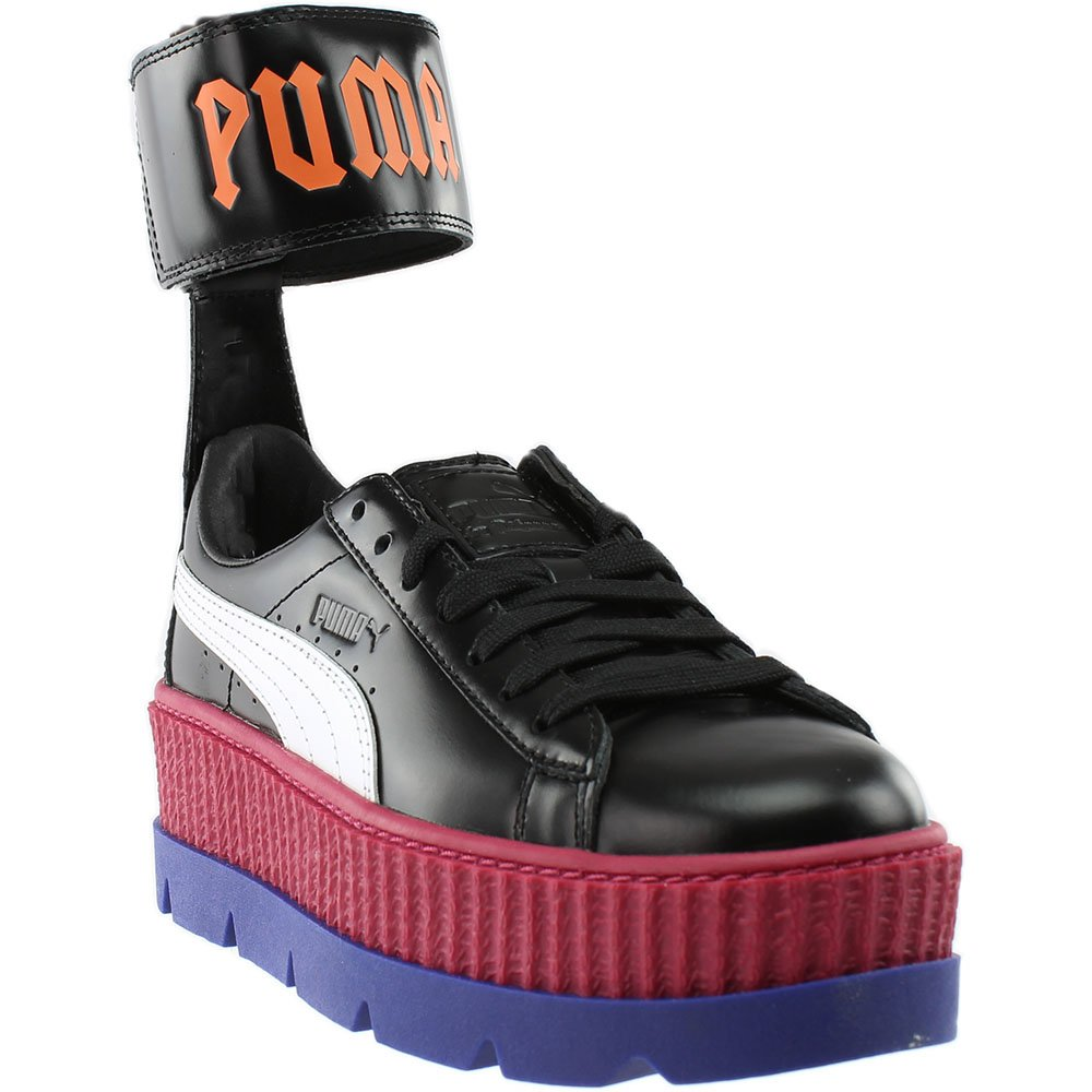 PUMA Women's Fenty x Ankle Strap Sneakers B07654XTN9 7.5 B(M) US|Black/White/Red/Blue/Flame