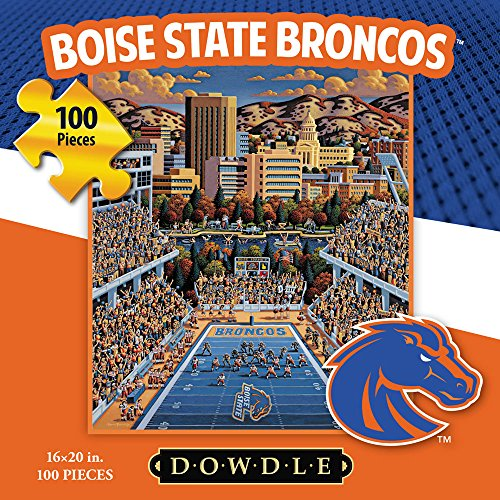 Jigsaw Puzzle - Boise State University Broncos-BSU-100 Pc By Dowdle Folk Art