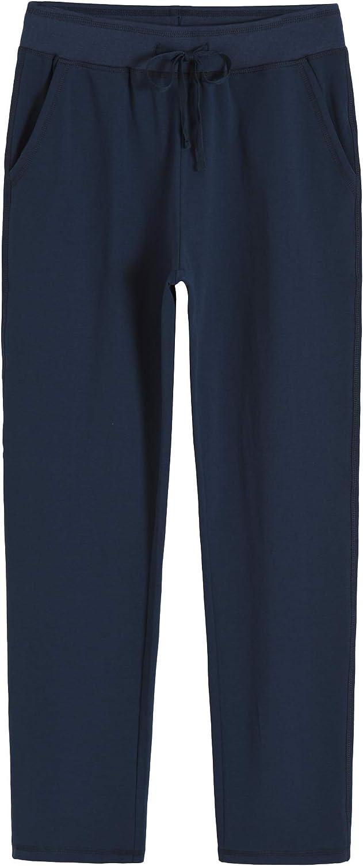 Weintee Women's Cotton Sweatpants with Pockets