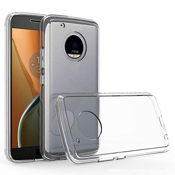 the latest 2a2fa 4667e Motorola Moto G5 Plus Clear Phone Rubber Case [ Storm Buy ] Ultra Slim  Transparent Crystal Clear Tpu Protective Soft Gel Back Thin Cover Case  (Clear)