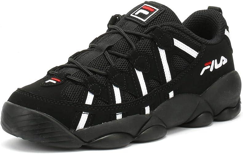 Fila Spaghetti Low Negro Zapatillas: Amazon.es: Zapatos y ...