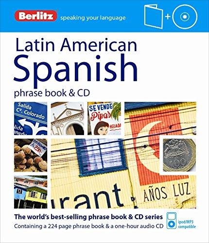 Berlitz Latin American Spanish Phrase Book & CD (Spanish Edition)