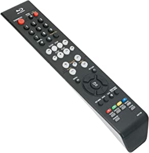 New AK59-00070B 00070B Replace Remote Control fit for Samsung Blu-ray Disc DVD Player BD-P1400 BD-UP5000 BD-P1500 BD-P1200 BD-UP5000/XAA Sub for AK59-00070D AK59-00070A AK59-00070E/B BD-P2550 Bd-p2500