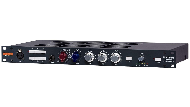 Amazon com: Warm Audio WA73-EQ Mic Preamp with Equalizer Bundle with