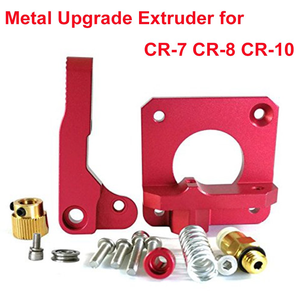 Upgrade 3D Printer Parts MK8 Extruder Aluminum Alloy Block Bowden Extruder  1 75mm Filament for Creality 3D Ender 3,CR-7,CR-8, CR-10, CR-10S, CR-10 S4,