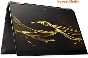 """HP Spectre Touch x360 13-ap000 Ash/Gold Convertible 8th Gen Quad Core Intel i5 up to 3.9GHz 8GB 256GB SSD 13.3"""" FHD Gorilla Glass (Renewed)"""