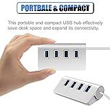 2win2buy USB Hub,4 Port USB Splitter 3.0 Data