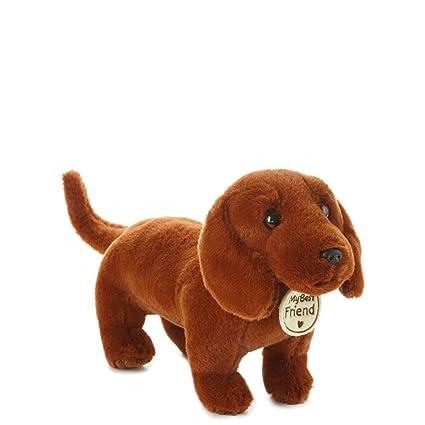 Amazon Com Hallmark My Best Friend Small Dachshund Plush Stuffed