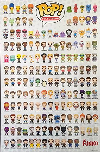 Funko Pop Television Poster 36 Quot X 24 Quot Buy Online In