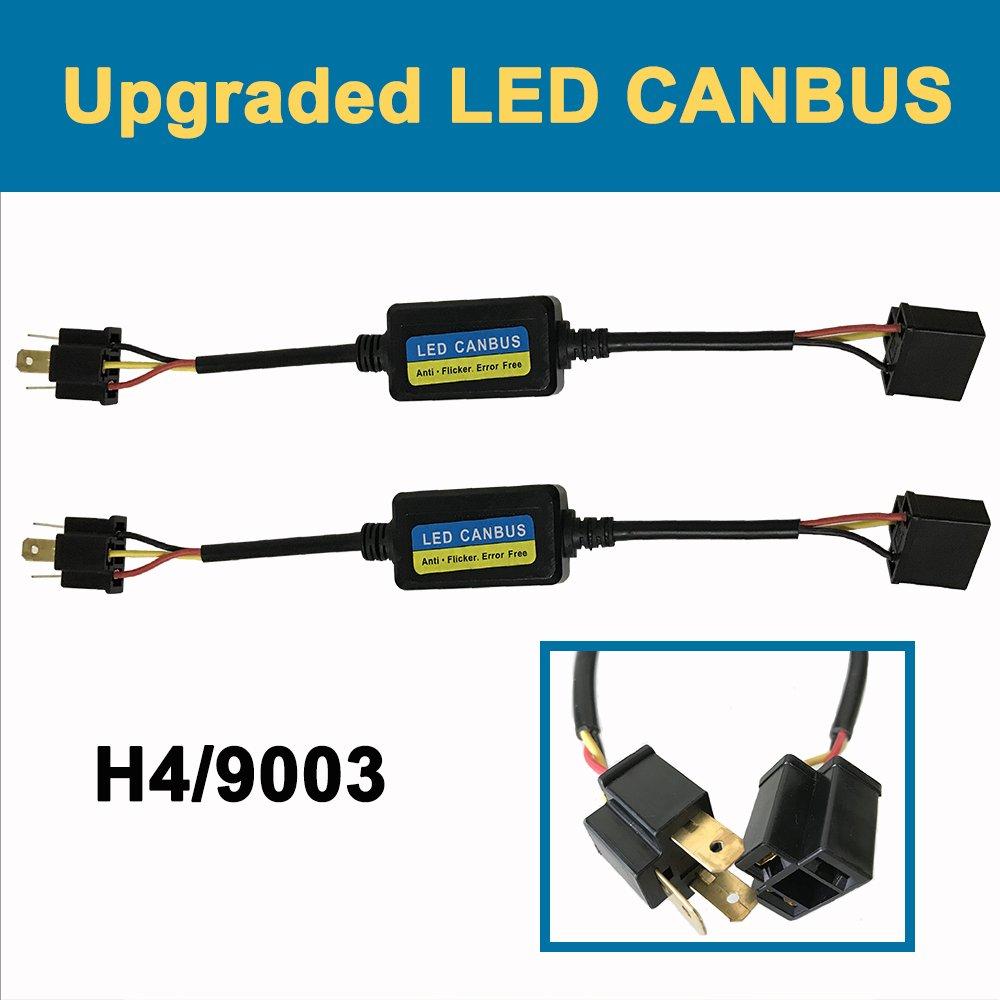 H4 9003 LED Anti Flicker