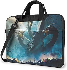 14 inch Laptop Sleeve Bag, Godzilla Tablet Briefcase Ultra Portable Protective Shoulder Shockproof Laptop Sleeve Case Bag Cover Notebook