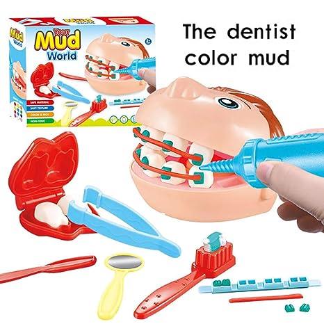 Zantec Gioco Dottore Bambini Medico Kit, 9 Pz / set Dentista