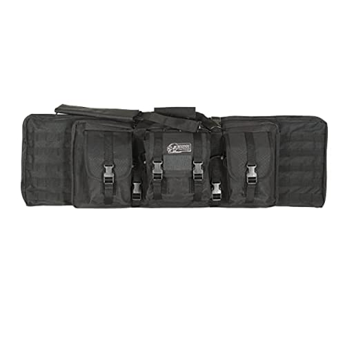 Voodoo Tactical Padded Weapon Case: Holds Rifle with Optics, Two Pistols and Ammo