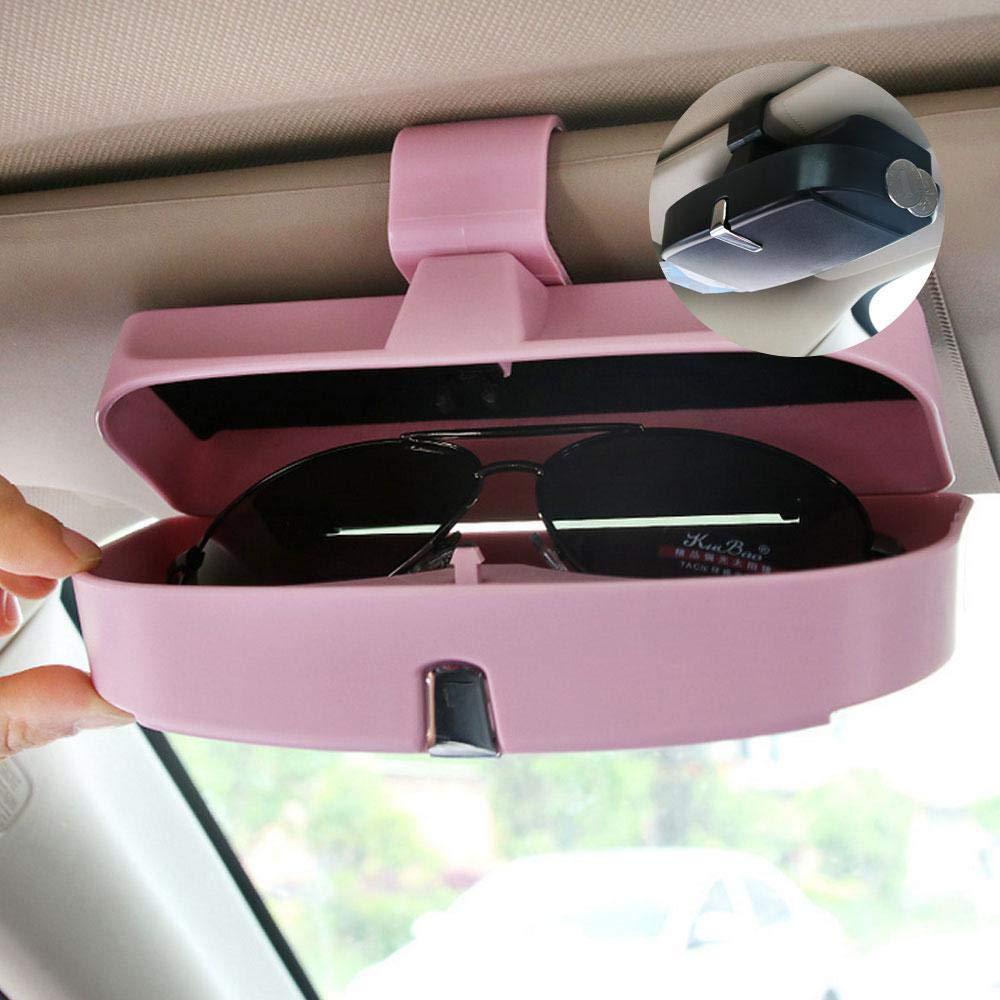 Gafas de Sol Clip para Tarjetas de Cr/édito Clips para Sujetar Gafas Soportes para Gafas de Sol para Coche TNMV 2PCS Clip para Parasol Soport Gafas Coche
